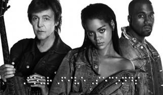 Aκούστε τη συνεργασία Paul McCartney, Kanye West και Rihanna