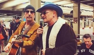 Οι U2 παίζουν ινκόγκνιτο στο μετρό της Νέας Υόρκης (video)