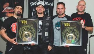 «Χρυσοί» οι Volbeat στις Η.Π.Α.