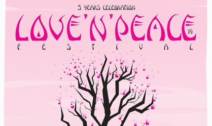 Love 'n' Peace Festival: Πελόμα Μποκιού, Low Gravity Band, Illegal Operation, Mother Of Millions