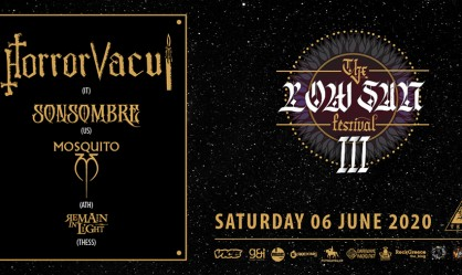 The Low Sun Festival: Horror Vacui, Sonsombre, Mosquito, Remain In Light