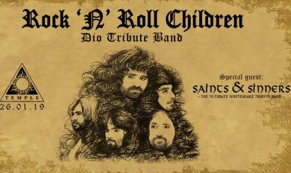 Rock N' Roll Children, Saints & Sinners (Whitesnake tribute)