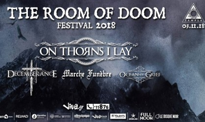 The Room Of Doom Festival: On Thorns I Lay, Decemberance, Marche Funebre, Ocean Of Grief