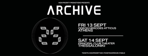 Archive Θεσσαλονίκη @ Principal Club Theater