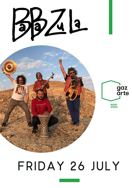 Baba Zula Αθήνα @ Gazarte