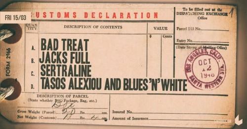 Βad Treat, Jacks Full, Sertraline, Tasos Alexiou & Blues 'n' White Αθήνα @ 6 D.O.G.S