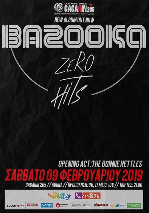 Bazooka, The Bonnie Nettles Αθήνα @ Gagarin 205