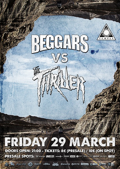 Beggars, The Thriller Αθήνα @ Temple Athens