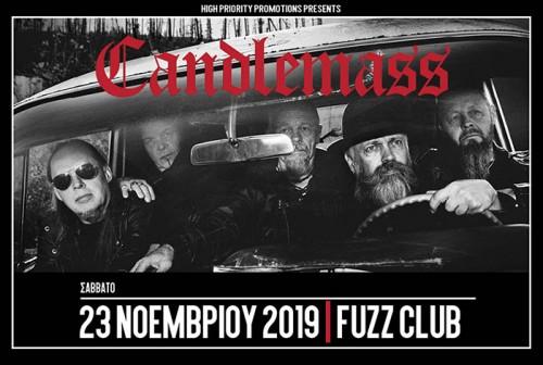 Candlemass Αθήνα @ Fuzz Club