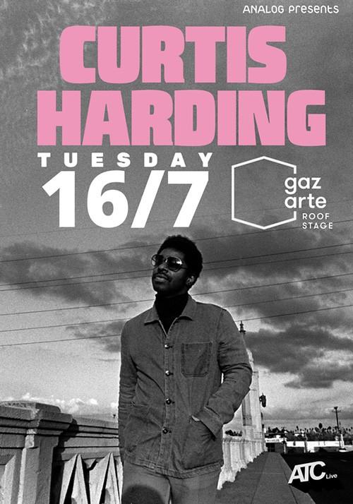 Curtis Harding Αθήνα @ Gazarte