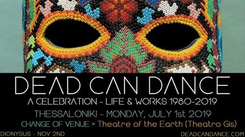 Dead Can Dance, David Kuckhermann Θεσσαλονίκη @ Θέατρο Γης