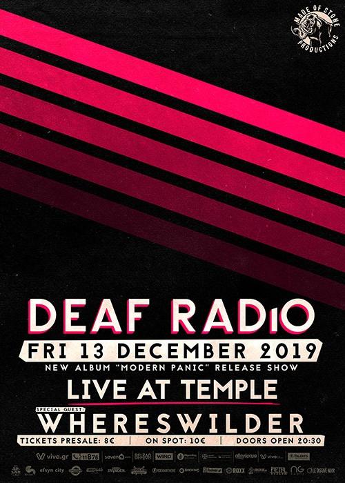 Deaf Radio, Whereswilder Αθήνα @ Temple Athens