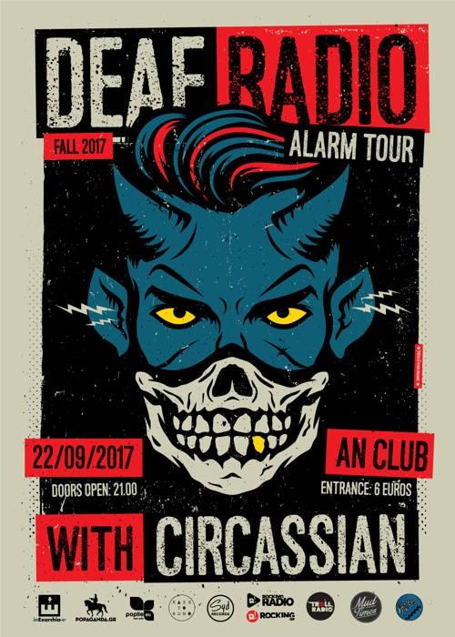 Deaf Radio, Circassian Αθήνα @ AN Club