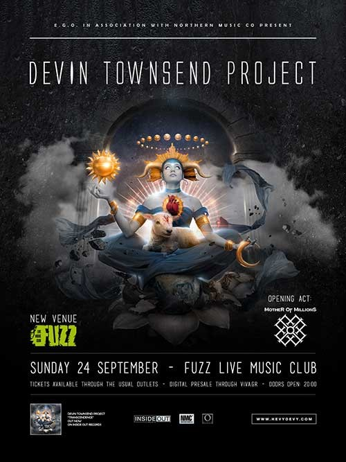 Devin Townsend, Mother Of Millions Αθήνα @ Fuzz Club