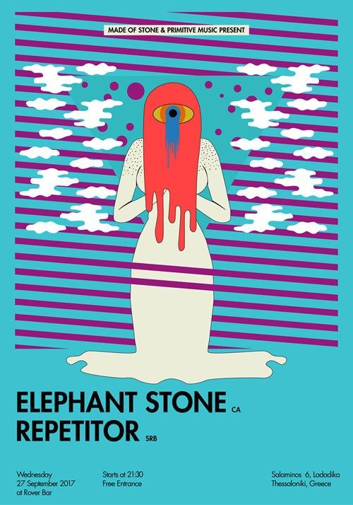Elephant Stone, Repetitor Θεσσαλονίκη @ Rover