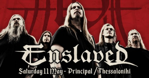 Enslaved Θεσσαλονίκη @ Principal Club Theater