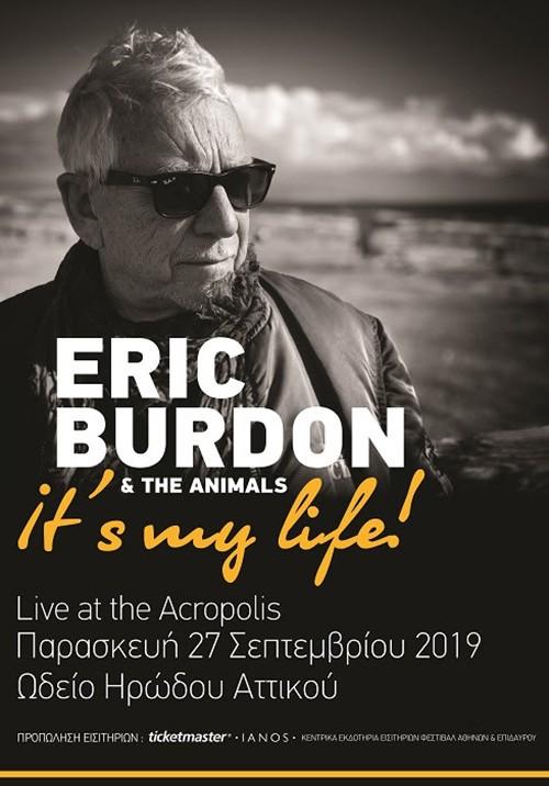 Eric Burdon & The Animals Αθήνα @ Ηρώδειο