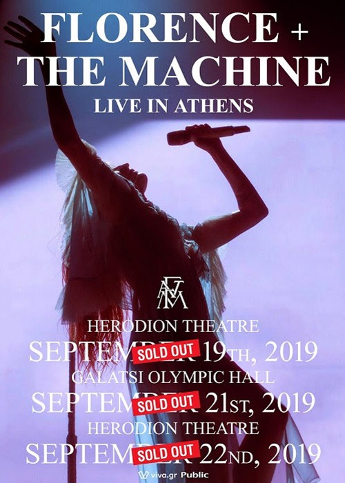 Florence And The Machine Αθήνα @ Ηρώδειο
