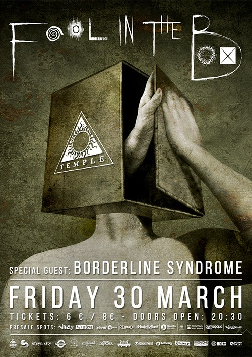 Fool In The Box, Borderline Syndrome Αθήνα @ Temple Athens
