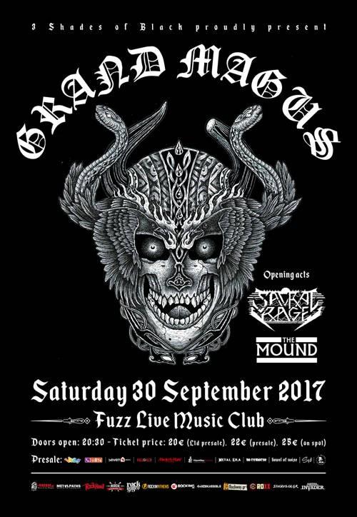 Grand Magus, Sacral Rage, The Mound Αθήνα @ Fuzz Club
