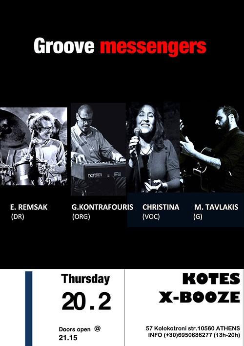 Groove Messengers Αθήνα @ Booze Cooperativa