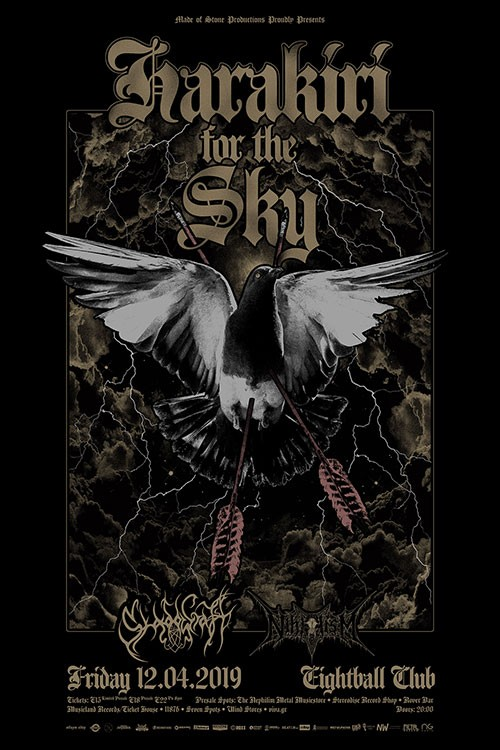 Harakiri For The Sky, Shadowcraft, Nihilism Θεσσαλονίκη @ Eightball