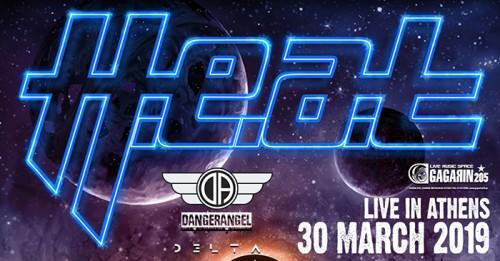 H.E.A.T., DangerAngel, Delta Αθήνα @ Gagarin 205