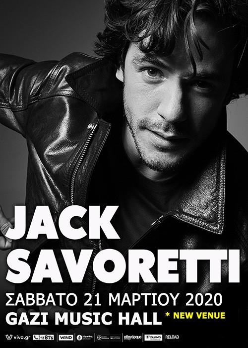 Jack Savoretti, Gizmo Varillas Αθήνα @ Gazi Music Hall