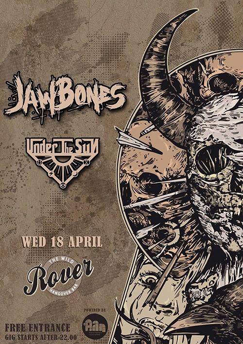 Jaw Bones, Under The Sun Θεσσαλονίκη @ Rover
