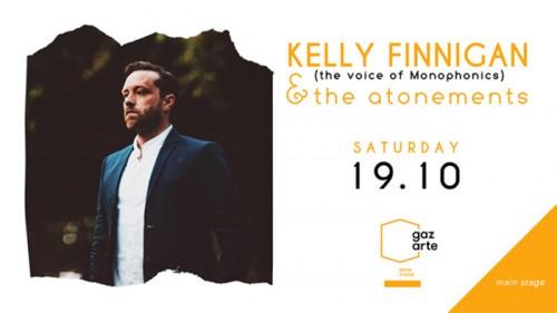 Kelly Finnigan & The Atonements Αθήνα @ Gazarte