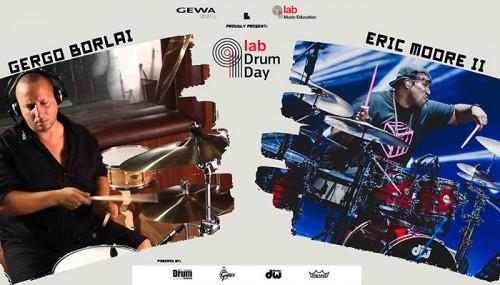 Lab Drum Day: Gergo Borlai, Eric Moore II Αθήνα @ Αρχιτεκτονική
