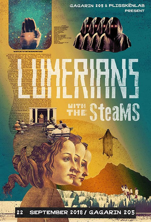 Lumerians, The Steams Αθήνα @ Gagarin 205