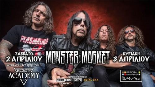 Monster Magnet, Headquake Αθήνα @ Piraeus Academy
