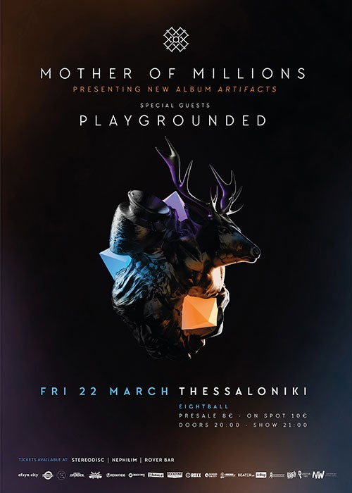 Mother Of Millions, Playgrounded Θεσσαλονίκη @ Eightball
