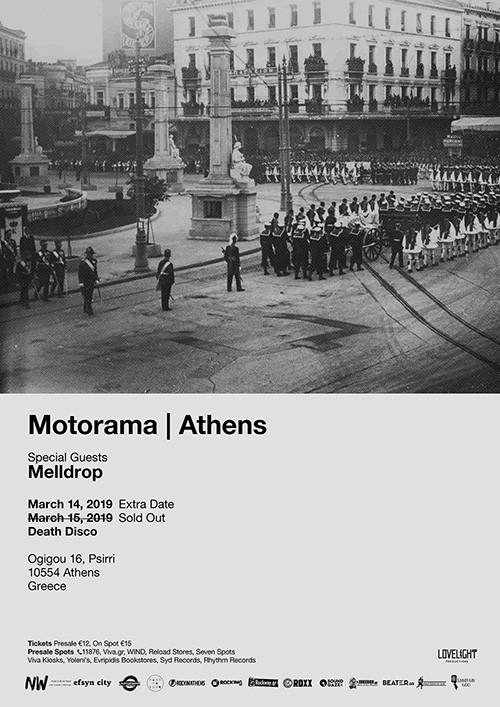 Motorama, Melldrop Αθήνα @ DeathDisco