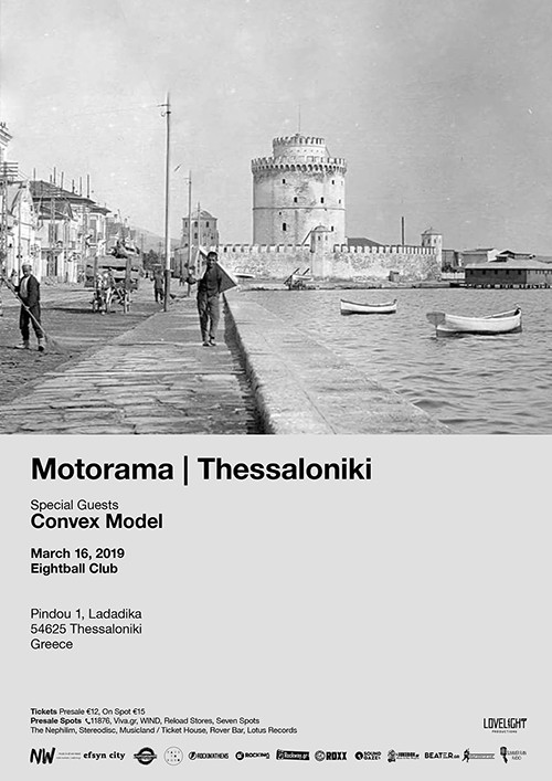 Motorama, Convex Model Θεσσαλονίκη @ Eightball