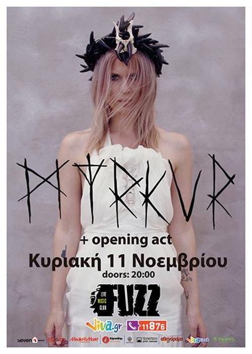 Myrkur, Labri Giotto Αθήνα @ Fuzz Club