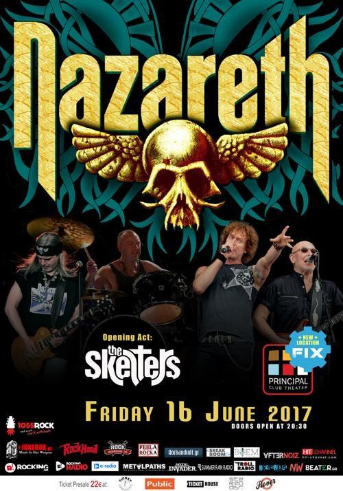 Nazareth, The Skelters Θεσσαλονίκη @ Principal Club Theater