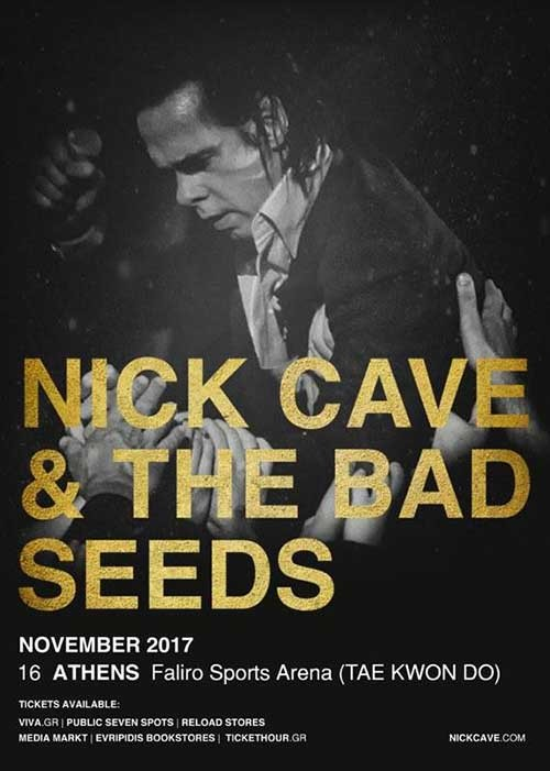 Nick Cave & The Bad Seeds Αθήνα @ Γήπεδο Tae Kwon Do