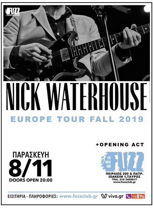 Nick Waterhouse Αθήνα @ Fuzz Club