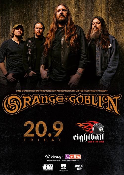 Orange Goblin Θεσσαλονίκη @ Eightball