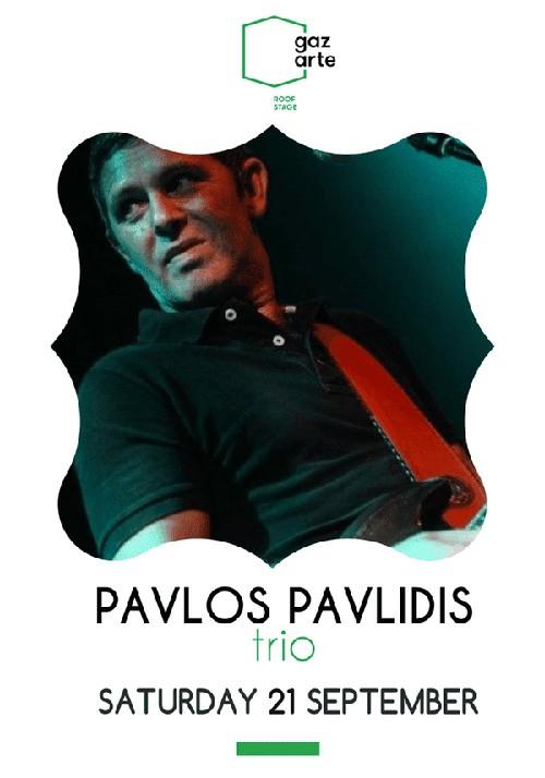 Παύλος Παυλίδης Trio Αθήνα @ Gazarte