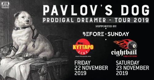 Pavlov's Dog, Before Sunday Αθήνα @ Κύτταρο