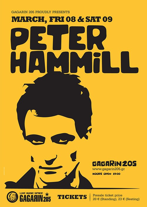 Peter Hammill Αθήνα @ Gagarin 205