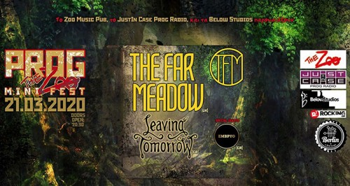 Prog The Zoo Fest: The Far Meadow, Leaving Tomorrow,  Έμβρυο Αθήνα @ The Zoo