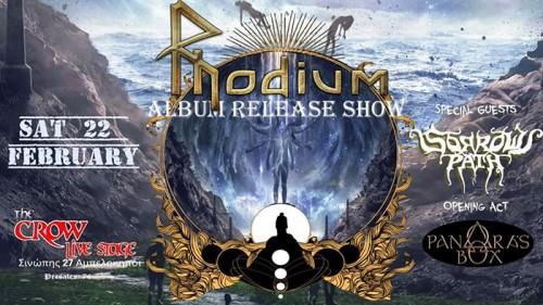 Rhodium, Sorrow's Path, Pandora's Box Αθήνα @ The Crow