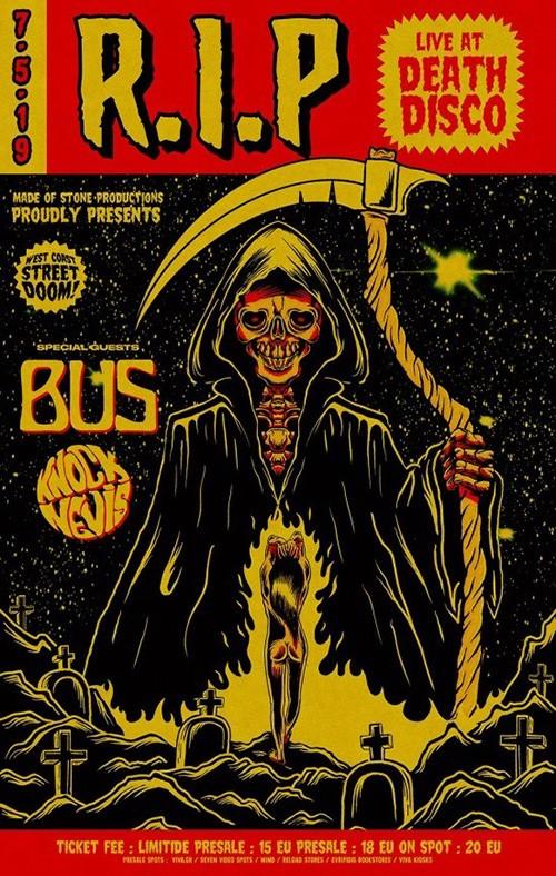 R.I.P., Bus Αθήνα @ DeathDisco