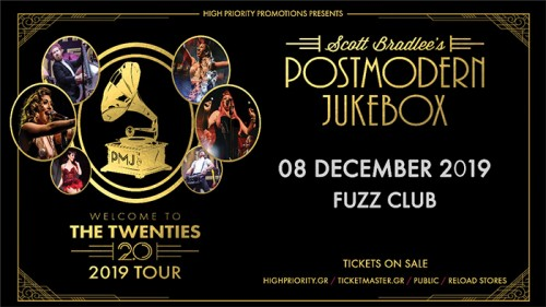 Scott Bradlee's Postmodern Jukebox Αθήνα @ Fuzz Club