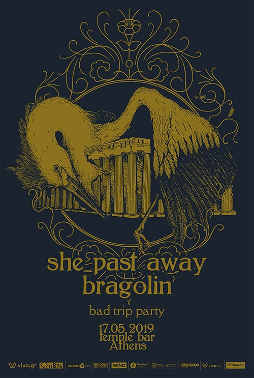 She Past Away, Bragolin Αθήνα @ Temple Athens