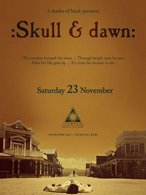 :Skull & Dawn: Αθήνα @ Temple Athens